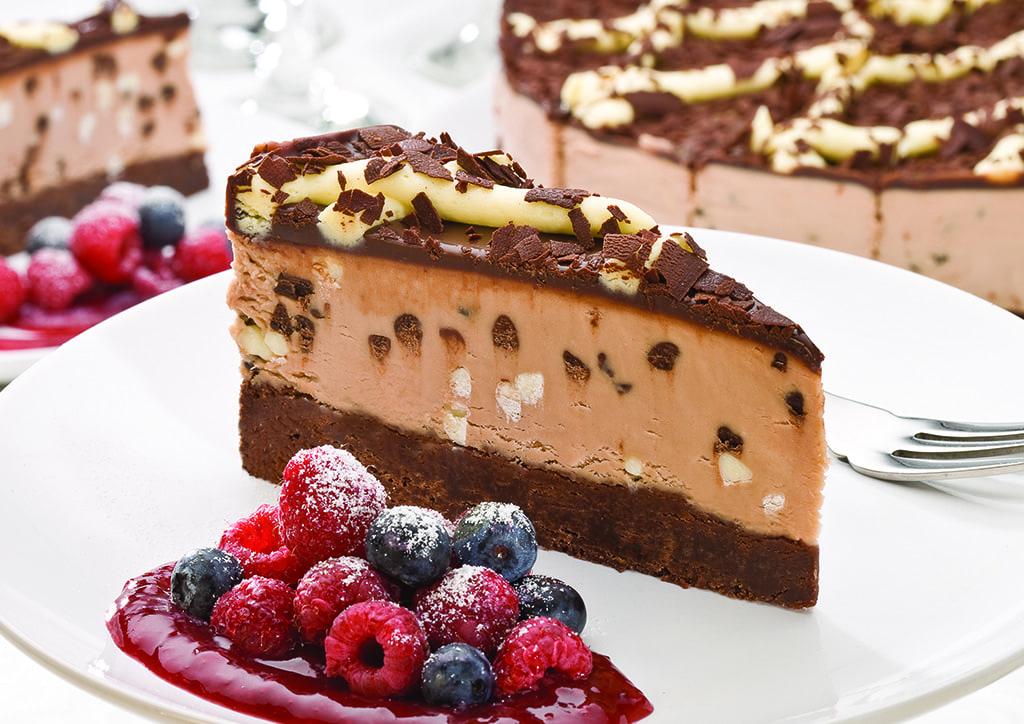 Chunky Choc cheesecake