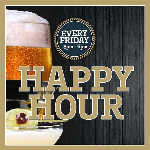Happy Hour Fridays