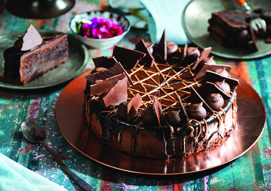 Chocolate Lovers mud cake